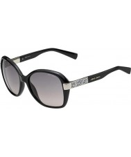 Jimmy Choo Дамы ALANA-S D28 ес блестящие черные очки