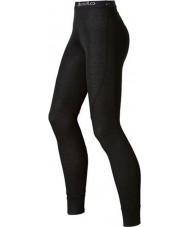 Odlo 150541-15000-M Дамы тренд черные длинные брюки JOHN baselayers - размер m (14)
