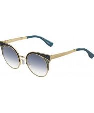 Jimmy Choo Дамы ORA-S PSX и3 золото военные зеленые очки